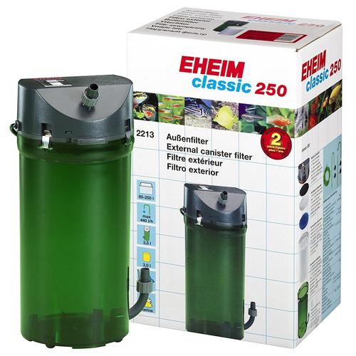 Eheim classic 2213++ (Classic 250) [440l/h] z wkładami BIO i podwójnymi zaworami
