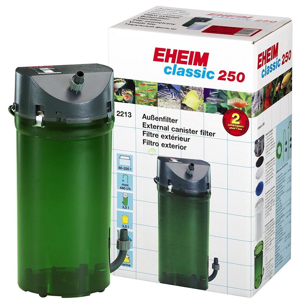 Eheim classic 2213++ (Classic 250) z wkładami BIO i podwójnymi zaworami
