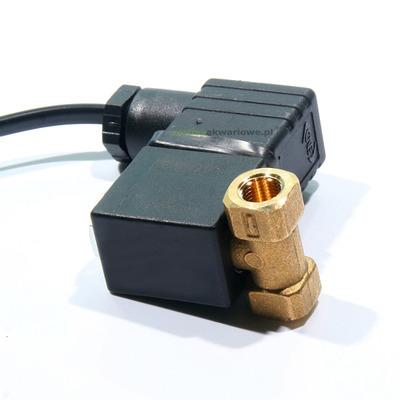 Elektrozawór CO2 ACL 3.5W z przewodem [1/8 cala] - komplet