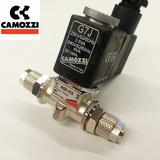 Elektrozawór CO2 CAMOZZI z przewodem i złączkami [3.5W]