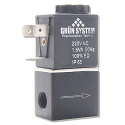 Elektrozawór GRUN SYSTEM [220V 1,5W] + kabel zasilający