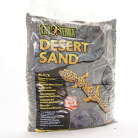 EXO TERRA Black Sand [4,5kg] - piasek pustynny czarny