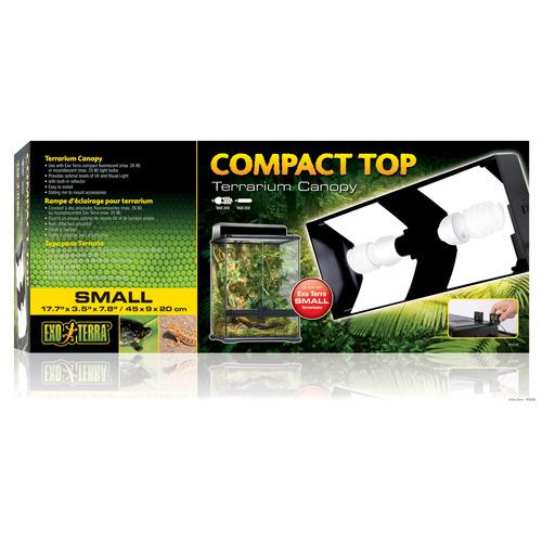 EXO TERRA Compact Top Small - pokrywa z oprawą na żarówkę