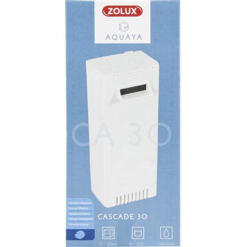 Filtr Cascade 30 Zolux Aquaya - kolor biały