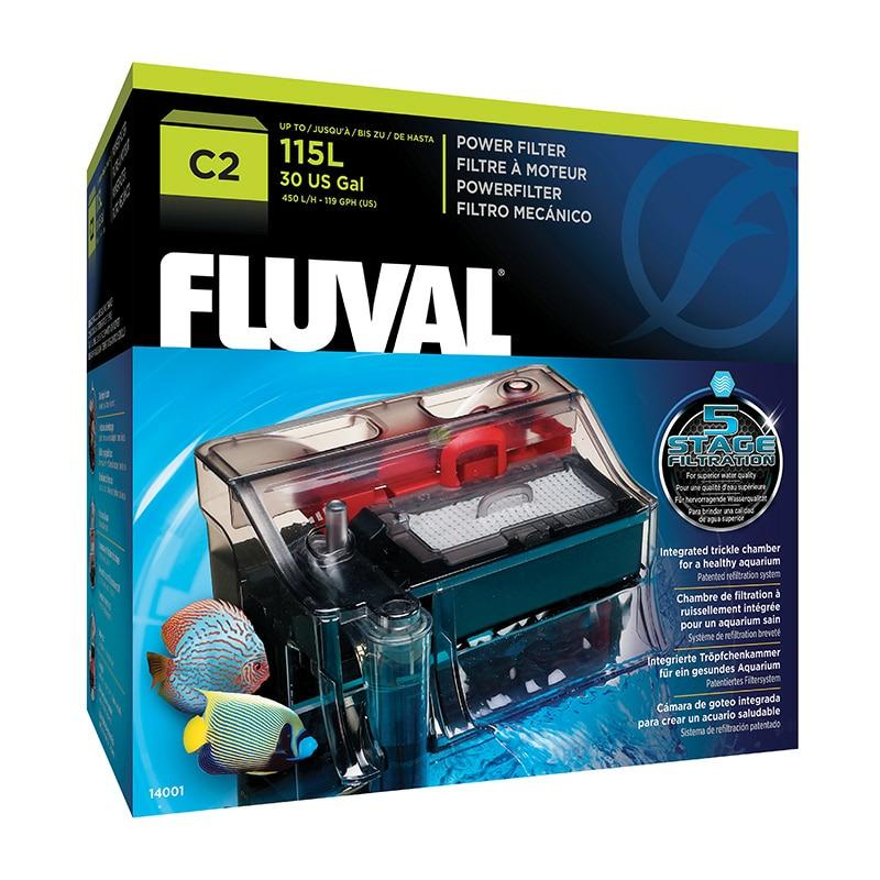 Filtr kaskadowy Fluval C2 - do 115l