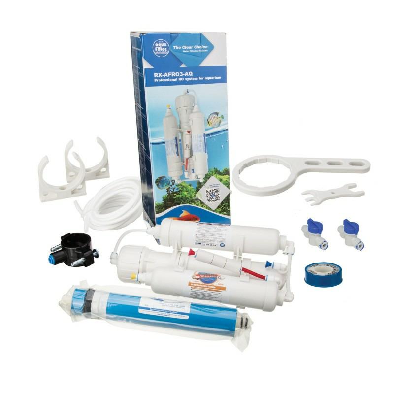Filtr RO3 Aquafilter [75gpd) - trzystopniowa osmoza (Colour box)