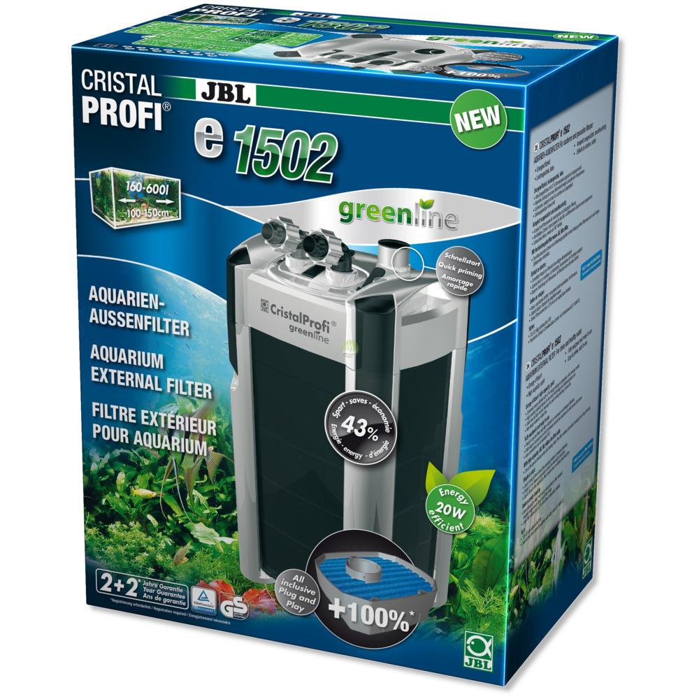 Filtr zewnętrzny JBL CristalProfi e1502 greenline