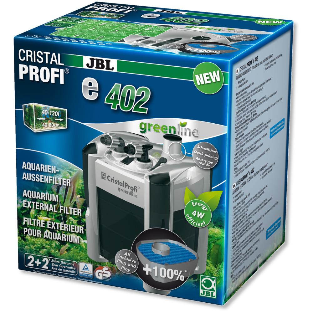 Filtr zewnętrzny JBL CristalProfi e402 greenline