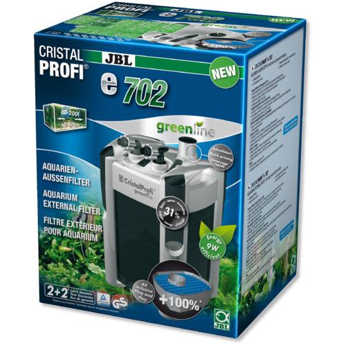 Filtr zewnętrzny JBL CristalProfi e702 greenline [700l/h]