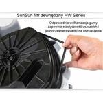 Filtr zewnętrzny SunSun HW-304B [2000l/h] - z lampą UV