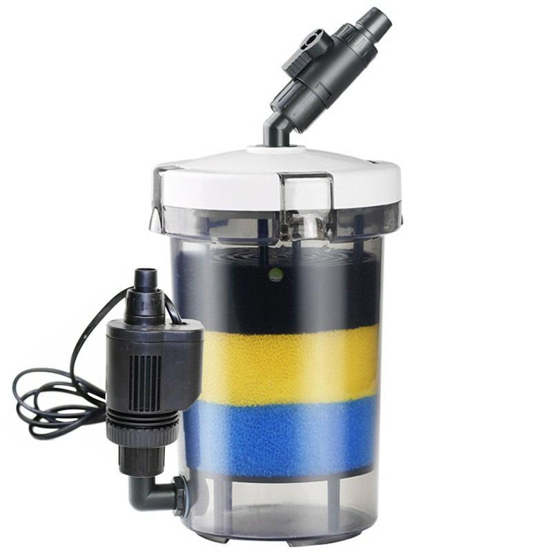 Filtr zewnętrzny SunSun LW-603B [400l/h] - pojemność 2.2l