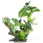 FLORA-SCAPE 2 L [28x15x23.5cm] - korzeń z roślinami