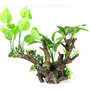 FLORA-SCAPE 3 XL [33.5x16x29.5cm] - korzeń z roślinami