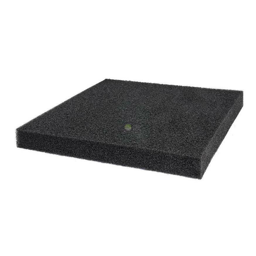 Gąbka filtracyjna 45x45x5cm 30PPI - czarna