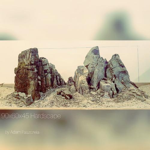 Gotowy layout 90x60x45cm Frodo Stone - wzór 17