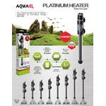 Grzałka AquaEL Platinium Heater [300W] - elektroniczna