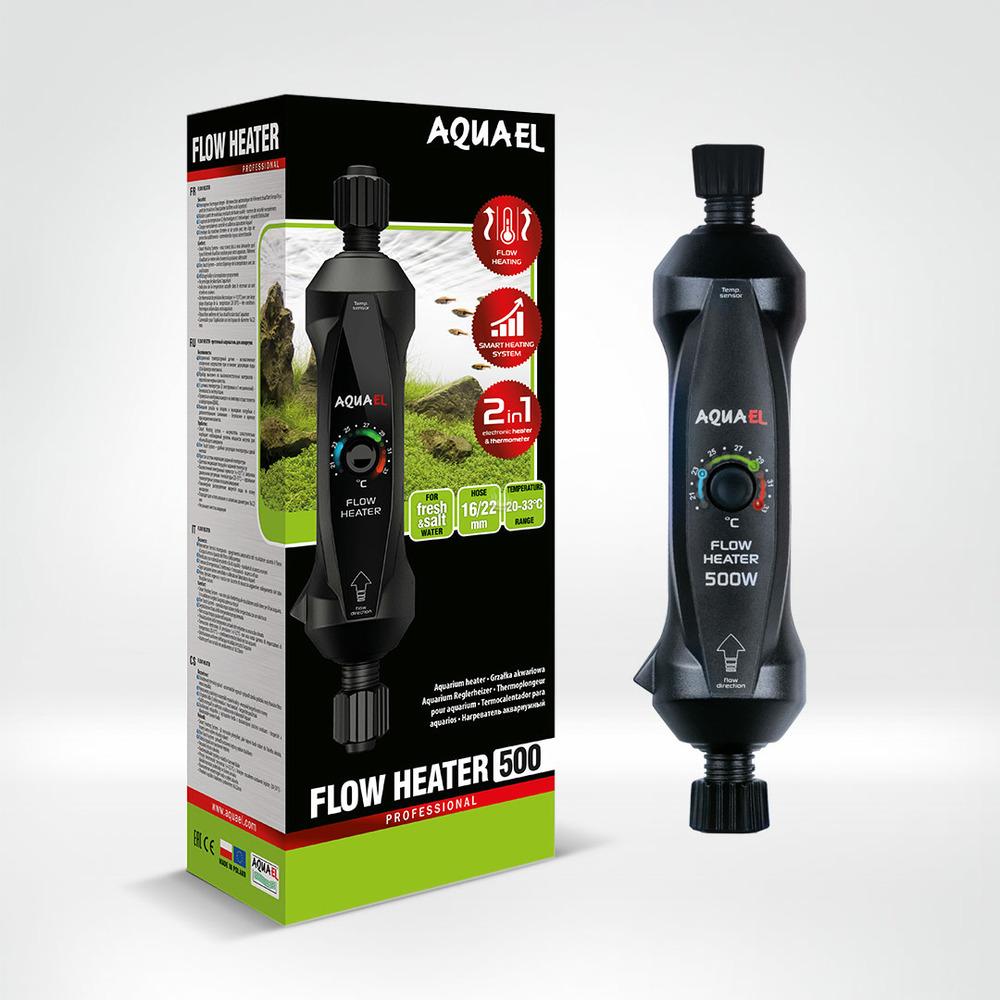 Grzałka przepływowa Aquael FLOW HEATER 300W [16/22mm]