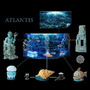 Hydor H2shOw Atlantis - dekoracja świątynia
