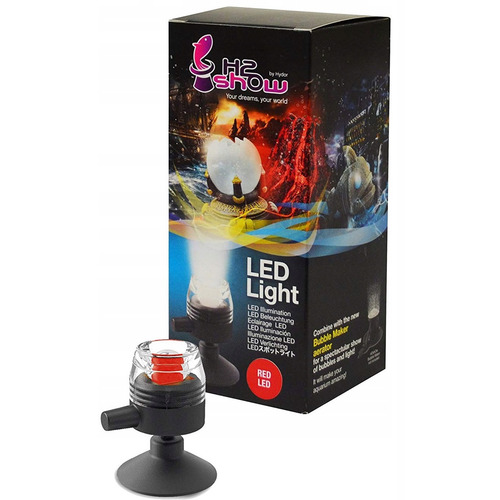 Hydor H2shOw - lampka led kol. czerwony