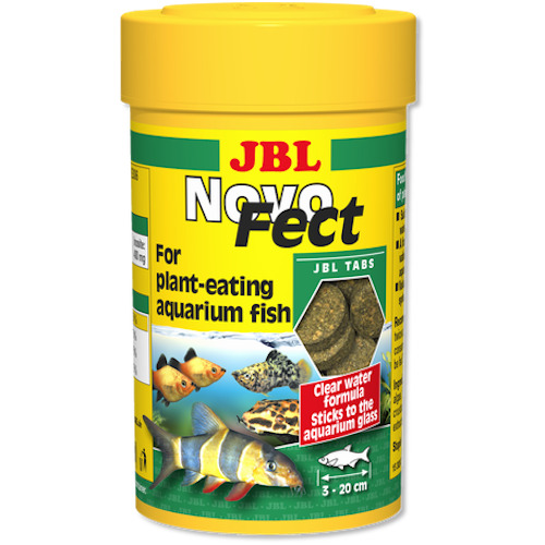 JBL NovoFect 10 - pokarm roślinny dla ryb słodkowodnych i krewetek