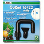 JBL OutSet 16/22 mm - wylot filtra do akwarium (6015600)