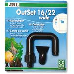 JBL OutSet 16/22mm - wylot filtra do akwarium (6015600)