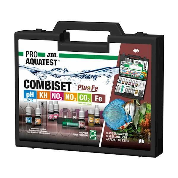 JBL Test Combi Set Plus Fe PROAQUA - zestaw 5 testów w walizce