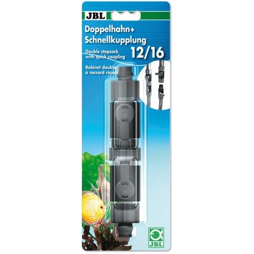 JBL Zawór podwójny z szybkozłączkami na wąż 12/16mm