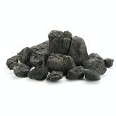 Kamienie Black Lava Stone [1kg] - czarna lawa