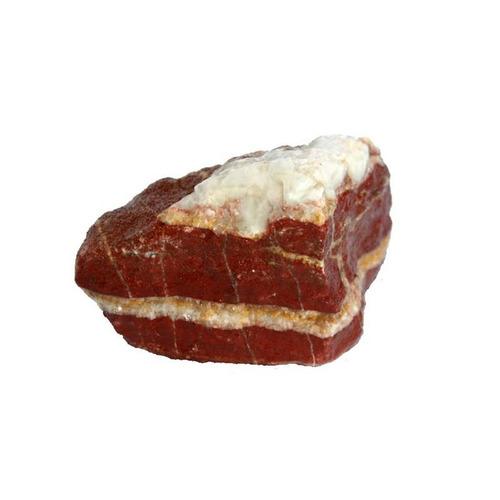 Kamienie Jaspis czerwony z białymi liniami [10kg] BOX