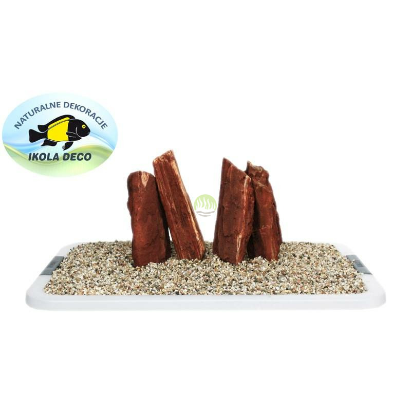 Kamienie Red Wood Lines [1kg]