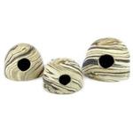 Kokos ceramiczny AquaWild ApiKo L Sand 14x12cm]