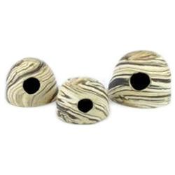 Kokos ceramiczny AquaWild ApiKo S Sand [10x7,5cm]