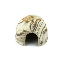 Kokos ceramiczny AquaWild Koko S Sand [10x7,5cm]