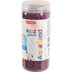 Kolorowy żwir Aquasand Kidz Gravel [500ml] - fioletowy
