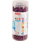 Kolorowy żwir Aquasand Kidz Nugget [500ml] - fioletowy
