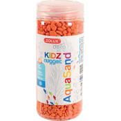 Kolorowy żwir Aquasand Kidz Nugget [500ml] - pomarańczowy