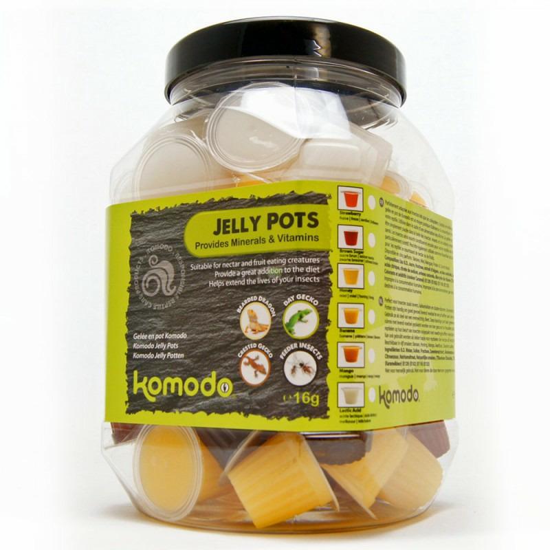 Komodo Jelly Pot Fruit Mix Jar - miks owocowy w żelu [60szt]
