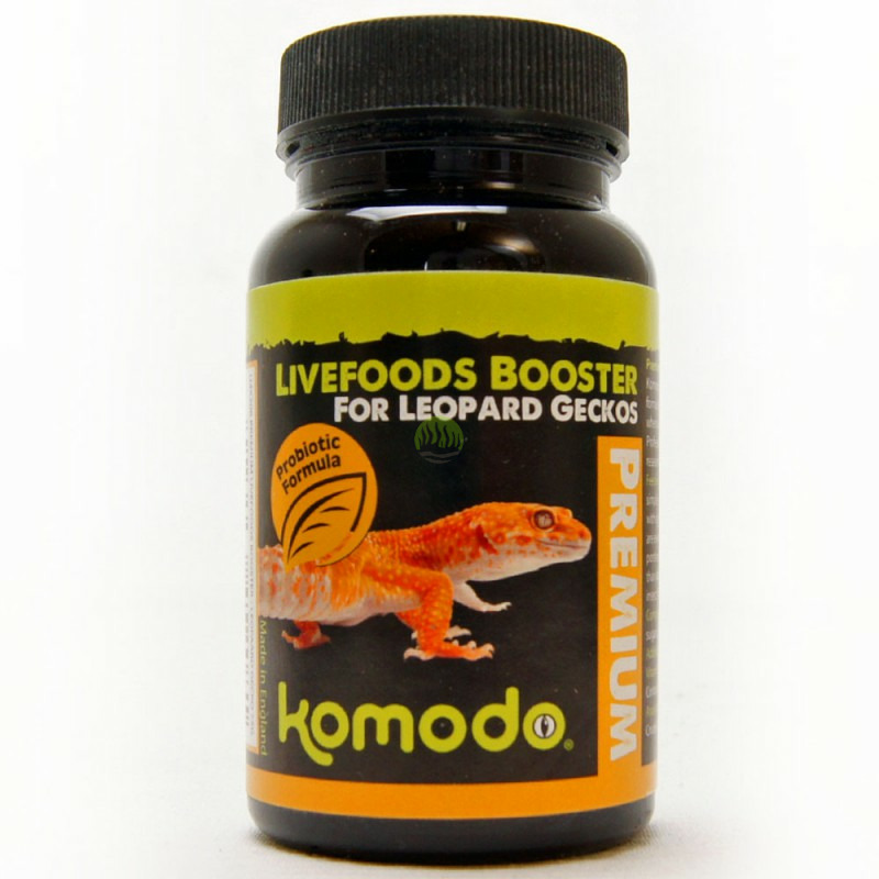 Komodo Premium Lifefood Booster for Leopard Geckos [75g]
