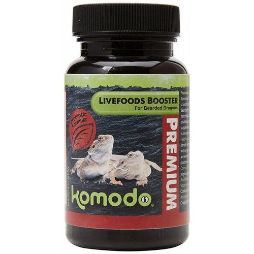 Komodo Premium Vegetable Booster for Juvenile Bearded Dragons [75g]