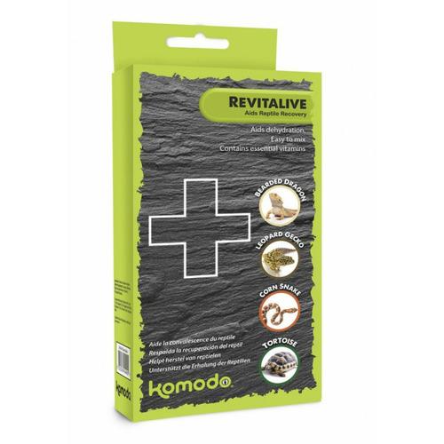 Komodo Revitalive - pierwsza pomoc dla gadów i płazów
