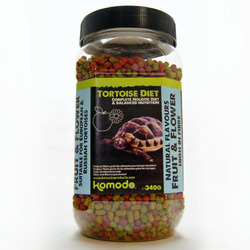 Komodo Tortoise Diet Fruit Flower [340g] - pokarm dla żółwi