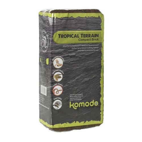 Komodo Tropical Terrain Brick L - podłoże z włókien kokosa [8l]