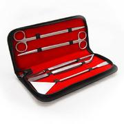 Komplet 5 narzędzi do pielęgnacji akwarium (w etui) - 23cm