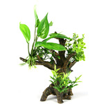 Korzeń z roślinami 14x11x31.5cm (FLORA-SCAPE 7s)