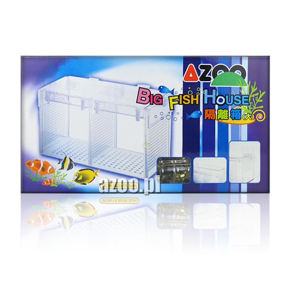 Kotnik powdójny AZOO Big Fish House - inkubator