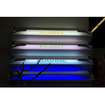 Lampa LED AquaEL LEDDY SLIM [36W] - SUNNY - srebrna