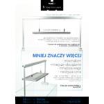 Lampa LED NuniQ WRGB M120 - akrylowy stelaż