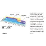 Lampa LED Zetlight QMAVEN ZT6400 [160W] [6500K] - akwarium roślinne
