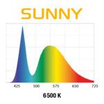 Lampka nano Aquael Leddy SLIM DUO [10W] SUNNY+PLANT - srebrna